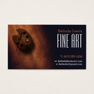 Fine Art | Oil Painter Business Card