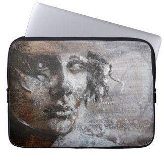 Fine art oil pastel painting laptop sleeve