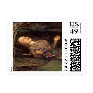Fine art Ophelia painting Postage Stamp