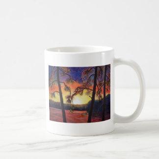 Fine Art Painted Sunset Brilliant Colors K Lindsey Coffee Mug