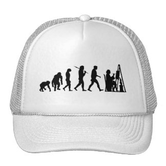 Fine Art Painter painting with oil or water paint Trucker Hat