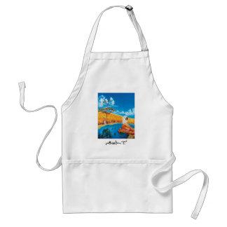 Fine art painting apron