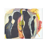Fine Art  Painting Modern Abstract  Figure Gallery Wrapped Canvas