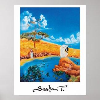 Fine art painting print print