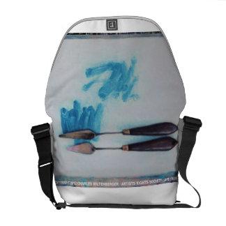 Fine Art Palette Knife Messenger Bag