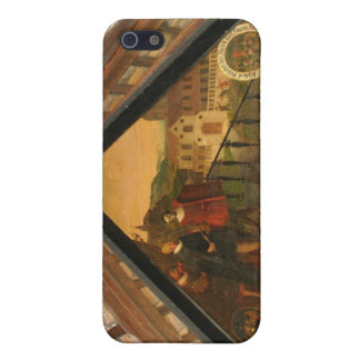 Fine art panel showing history of Lucerne Case For iPhone SE/5/5s