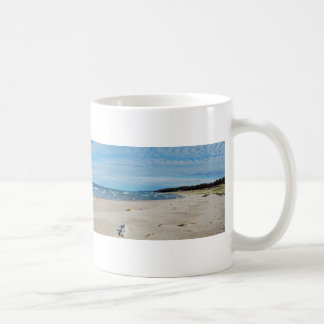 Fine Art Panorama Photograph Onekama, Michigan Coffee Mug
