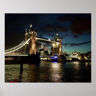 Fine Art photography London Tower Bridge England Poster
