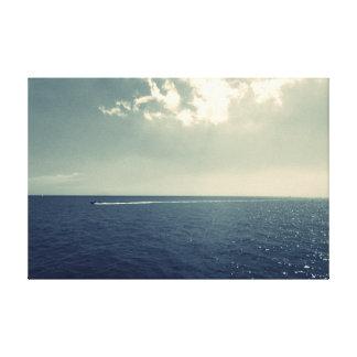 Fine Art Photography Sea view sky Seascape Canvas Print