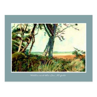Fine Art Postcard - Wells Beach, Norfolk