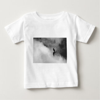 Fine Art Print of Seagull Flying in Clouds Shirts