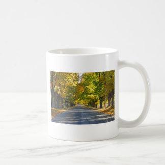 Fine Art Print Tunnel of Trees Coffee Mug