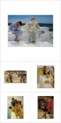 Fine Art Reproductions by Sir Lawrence Alma-Tadema