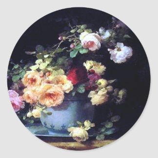Fine Art Roses Sticker