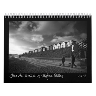 Fine Art Studies in black and white 2014 Calendar