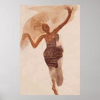 Fine Art ~ The Dancer c1906 Poster