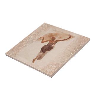 Fine Art ~ The Dancer c1906 Ceramic Tiles