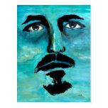Fine Art The Last Horizon Blue Portrait Post Cards