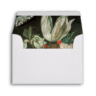 Fine Art Tulips and Flowers Envelope