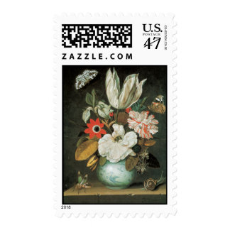 Fine Art Tulips and Flowers Postage
