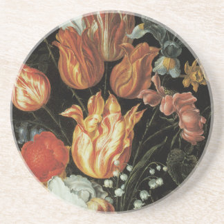 Fine Art Tulips and Roses Coaster