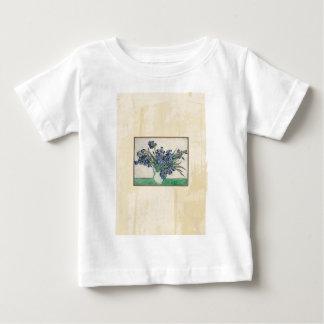 Fine Art Van Gogh Irises Baby T-Shirt