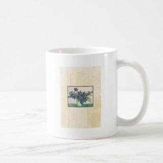 Fine Art Van Gogh Irises Coffee Mug