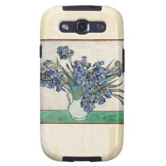 Fine Art Van Gogh Irises Galaxy S3 Case