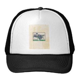 Fine Art Van Gogh Irises Hats