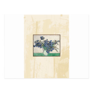 Fine Art Van Gogh Irises Postcard
