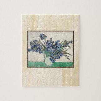 Fine Art Van Gogh Irises Puzzle