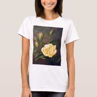 Fine Art Yellow Rose and Buds Still Life T-Shirt