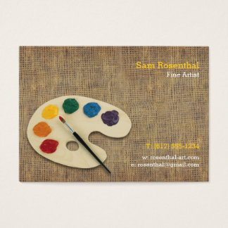 Fine Artist   Professional Business Card