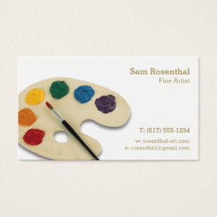 Fine artist business cards images business card template oil painting artist business cards templates zazzle fine artist professional business card colourmoves images colourmoves Images