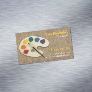 Fine Artist   Professional Magnetic Business Card