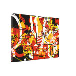 fine arts abstraction decor stretched canvas print