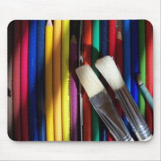 Fine Arts Artist Tools of the Trade MousePad
