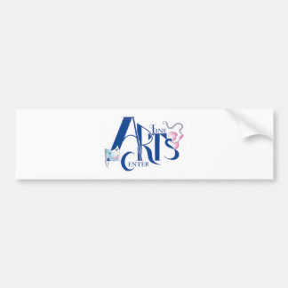 Fine Arts Center Logo Bumper Sticker