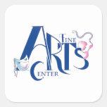 Fine Arts Center Logo Square Sticker