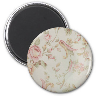 fine china floral 2 inch round magnet