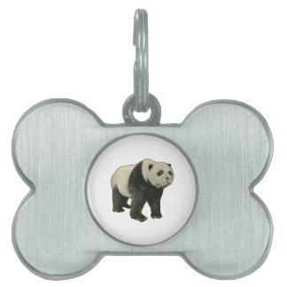 Fine China Pet Name Tag