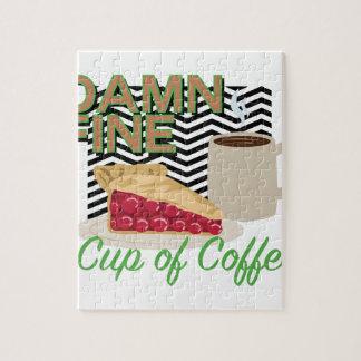 Fine Coffee & Pie Jigsaw Puzzle