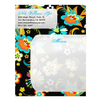 Fine Cute Cool Girly Retro Floral Fashion Letterhead