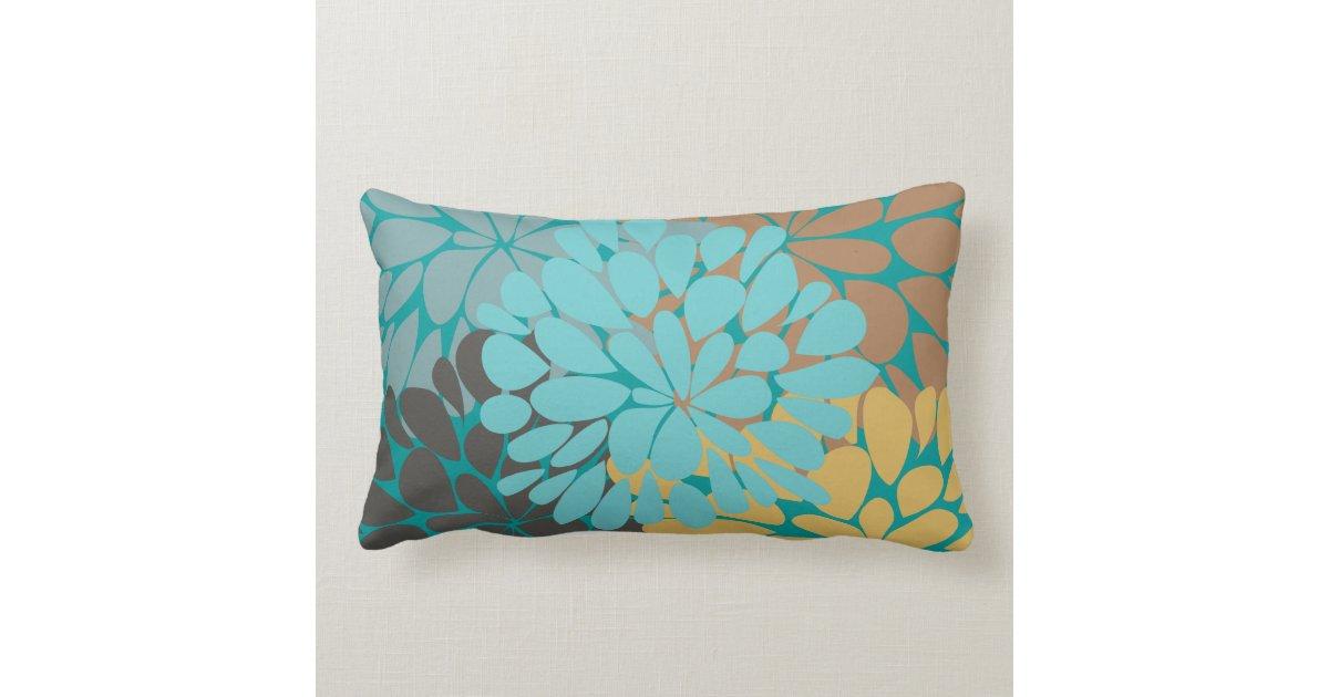 Fine Cute Cool Girly Retro Floral Fashion Lumbar Pillow