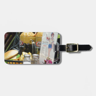 Fine Dining Luggage Tag
