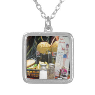 Fine Dining Silver Plated Necklace