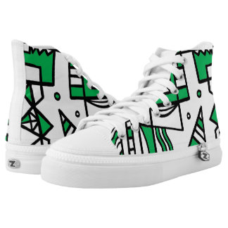 Fine Discreet Courageous Yummy 631 Art High-Top Sneakers
