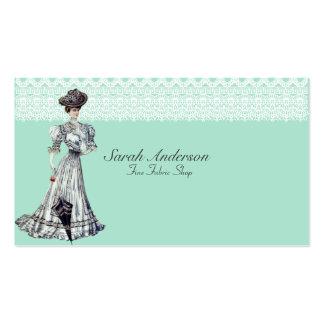 Fine Fabric Shop Business Card Templates