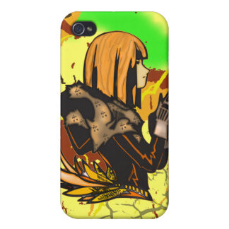 Fine Feathered Female Cases For iPhone 4