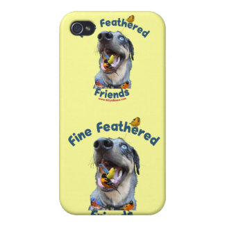 Fine Feathered Friends Bird Dog Covers For iPhone 4